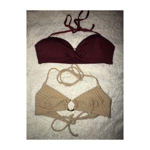 H&M Bikini tops